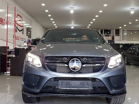 Mercedes GLE 43 AMG Coupe