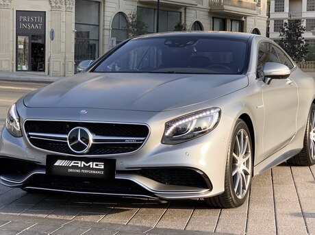 Mercedes S 63 AMG Coupe