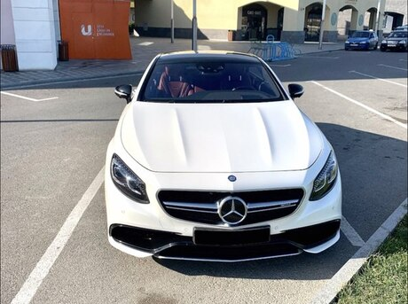 Mercedes S 63 AMG Coupe 2015