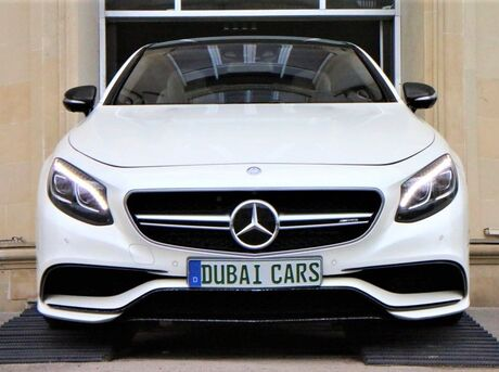 Mercedes S 63 AMG Coupe 2014