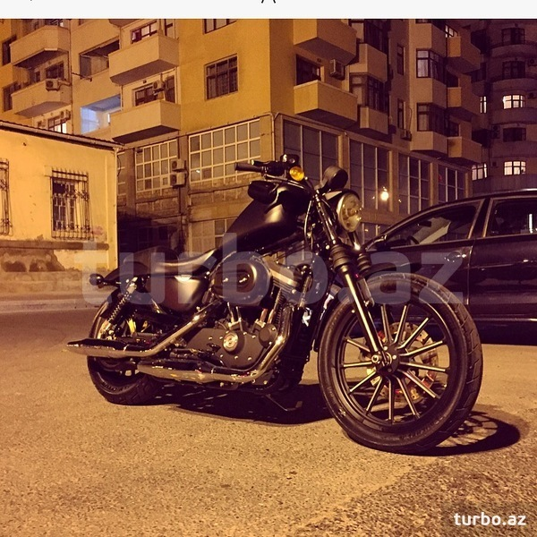 Harley Davidson With Turbo: Harley-Davidson XL883N Sportster Iron 883