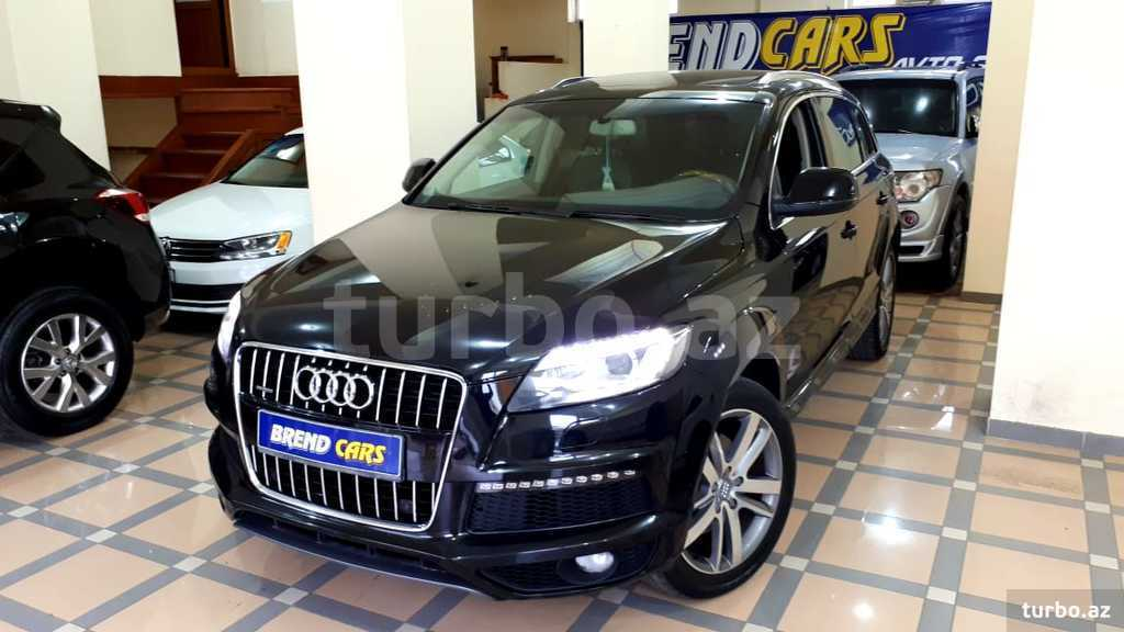 Audi Q7 2013 yeni SUV